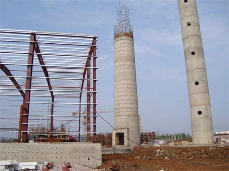 电厂砖烟囱新建