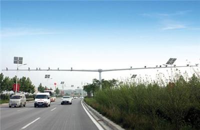 河南交通电警杆