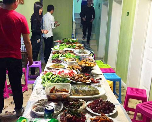 哈尔滨新颖聚餐
