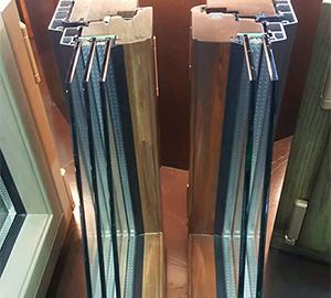 铝木窗价格