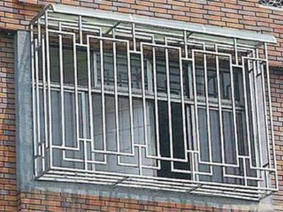 石家庄不锈钢防盗窗