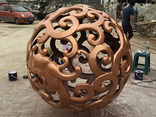 成都铸铜雕塑工艺