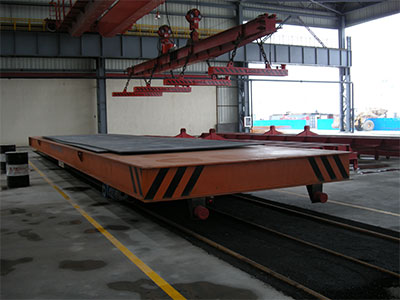 KPDS系列三相道轨供电轨道平车