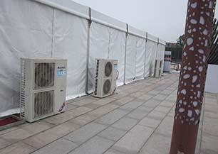 成都篷房空调租赁电话