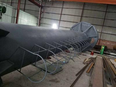 大型钢管立柱