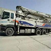贵阳液压式水泥泵车