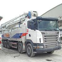 68米水泥泵车