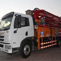 可编程控制器式水泥泵车