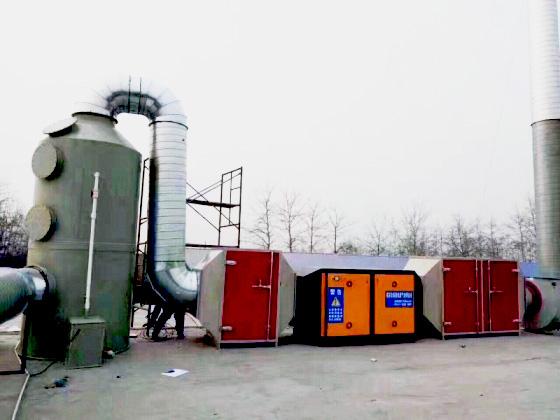 河南废气处理箱-活性炭环保箱多少钱