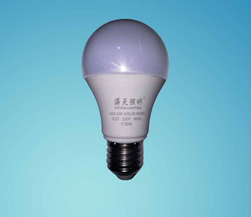 LED5W節能球泡燈