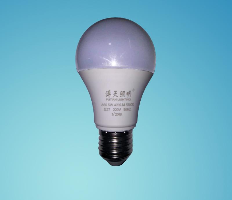 LED5W节能球泡灯