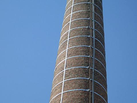 45米砖烟囱拆除