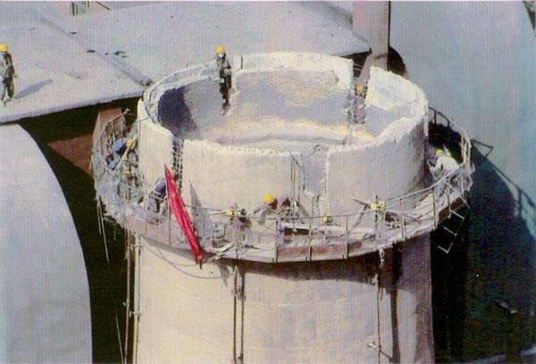 120水泥烟囱人工拆除工程项目