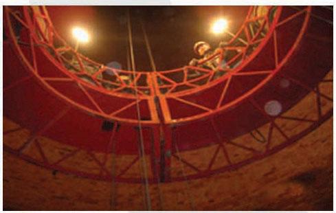 120米烟囱脱硫防腐工程