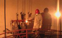 240米烟囱防腐脱硫工程