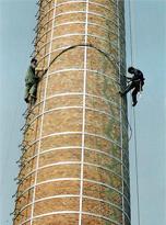 砖砌烟囱拆除