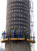 120米烟囱维修工程