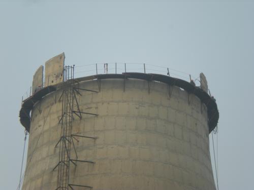 旧冷却塔拆除用人工拆除