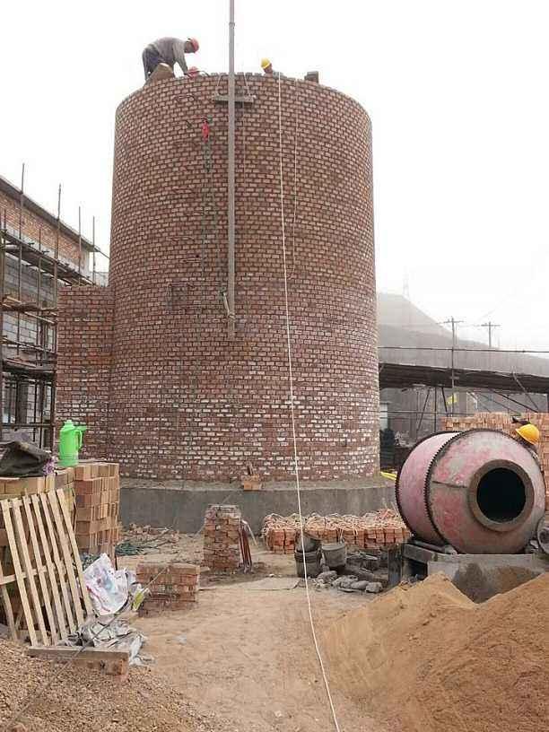 合肥市60米砖烟囱新建工程,水泥烟囱新建,倒锥形水塔新建,砖烟囱新建,尿素塔新建,灰库新建,钢烟囱新建