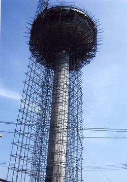 杭州倒锥形水塔新建滑模工程