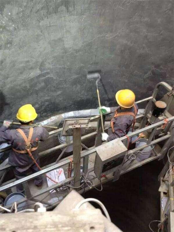 120米烟囱防腐脱硫工程