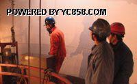 江苏省240米水泥烟囱内壁贴环氧树脂布防腐脱硫工程