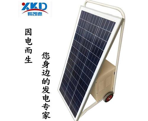手推式太阳能发电系统