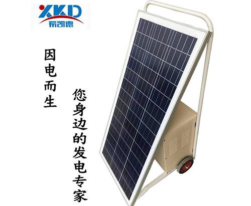 移动式手推式太阳能发电系统