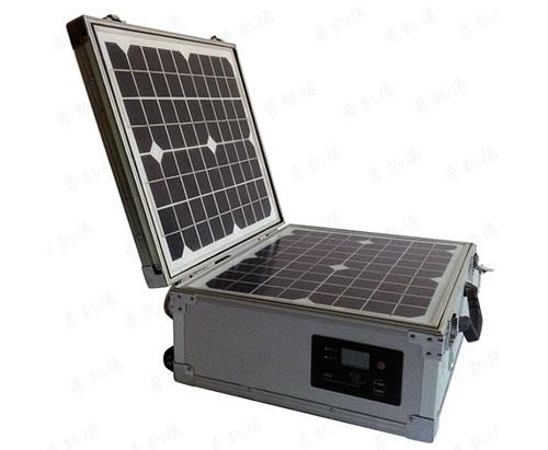 500W太阳能发电拉杆箱