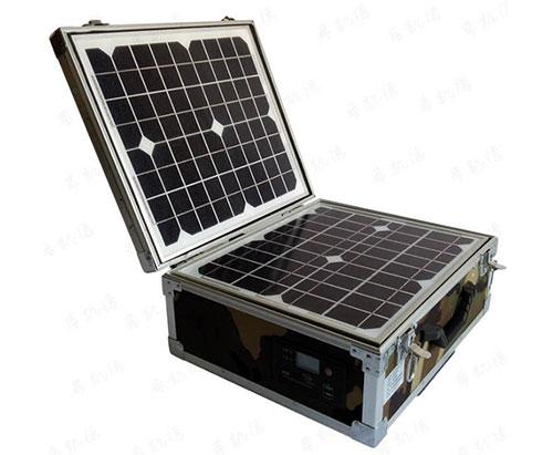 便携式太阳能交流发电箱