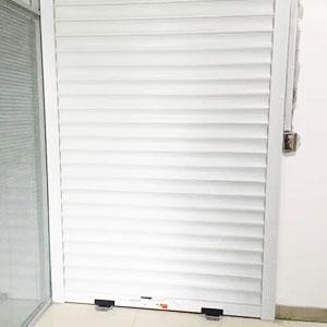 电动铝合金型材门