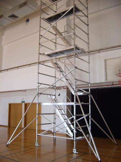 固定式铝合金爬梯
