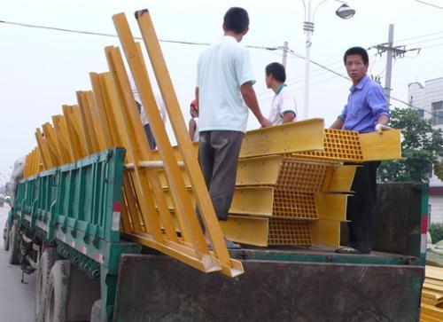 方管收割機爬梯