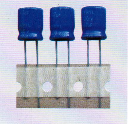 铝电解电容器编带样品