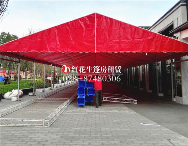10米跨度篷房出租