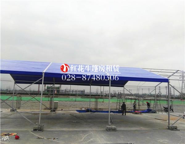 10米跨蓝色篷房租赁