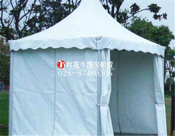 3米尖顶篷房