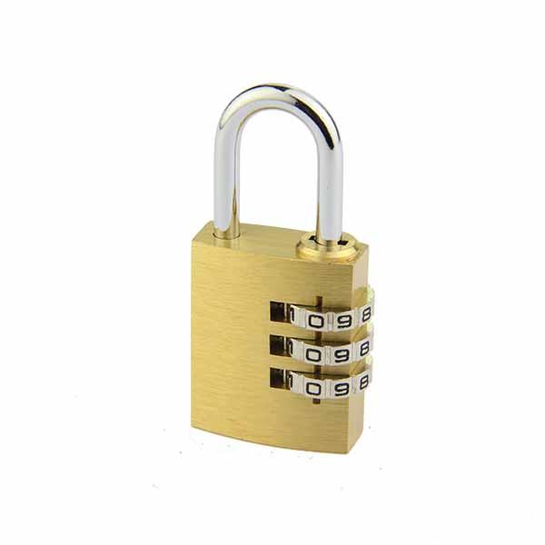 铜制密码锁T525