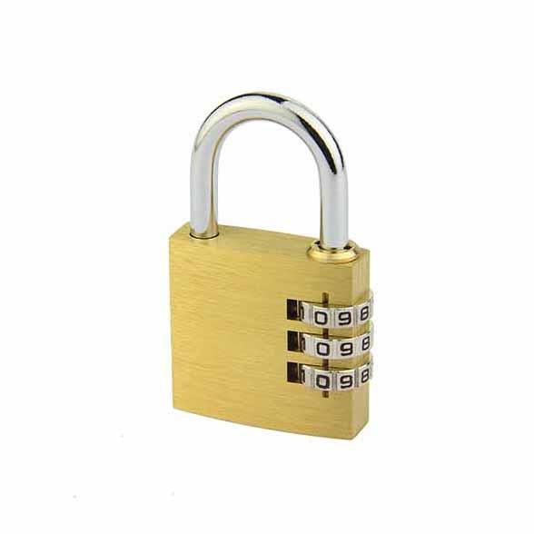 铜制密码锁T533