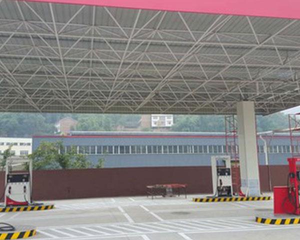 贵州加油站网架