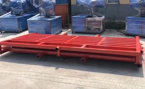 云南120吨工程洗轮机