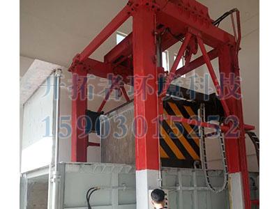 鄭州垂直式垃圾壓縮站