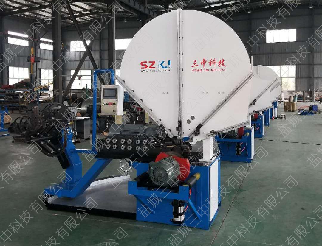 不锈钢螺旋风管机械