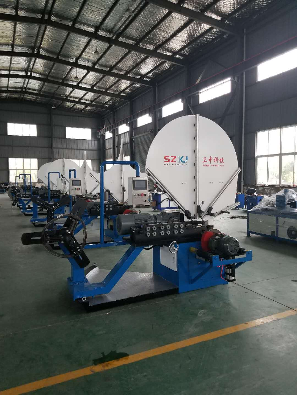 自动螺旋风管机