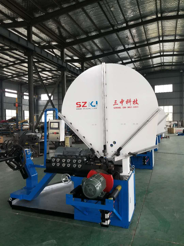 专业生产全自动螺旋风管机