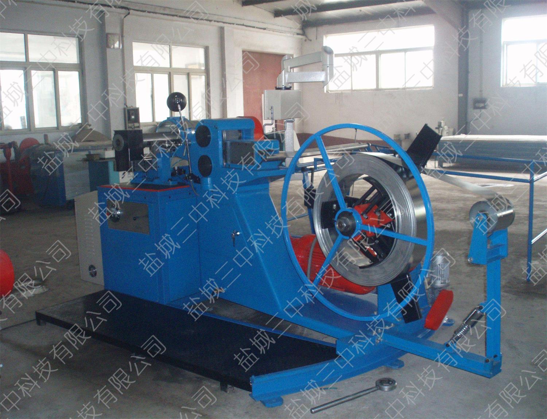 自动滚剪式螺旋风管机