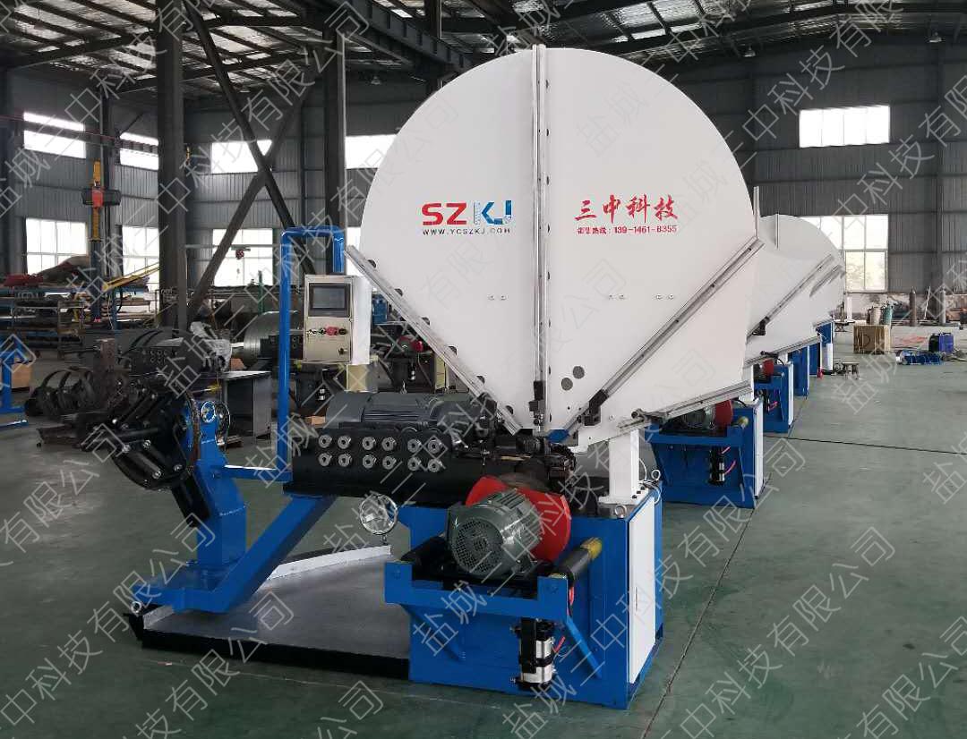 全自动螺旋风管机生产