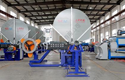 锯片式全自动螺旋风管机