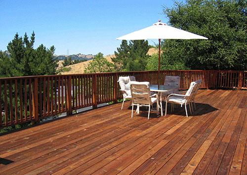 遵义防腐木地板安装