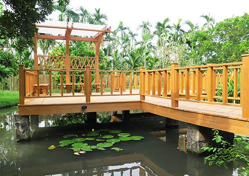 六盘水贵州防腐木护栏